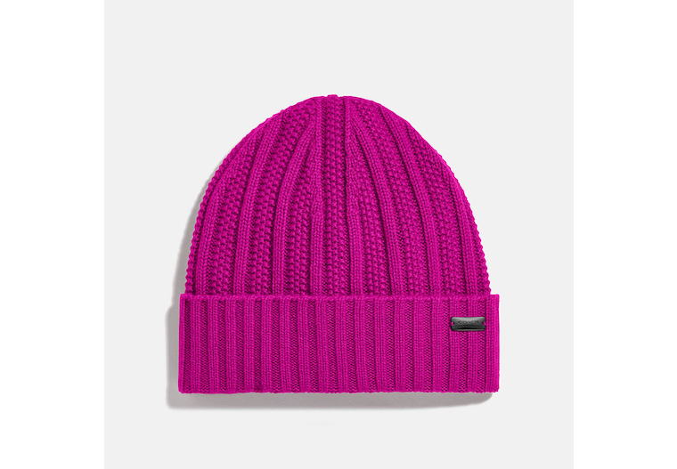 Cashmere Seed Stitch Knit Hat image number 0