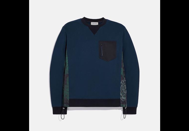 Nylon Sweatshirt With Kaffe Fassett Print image number 0