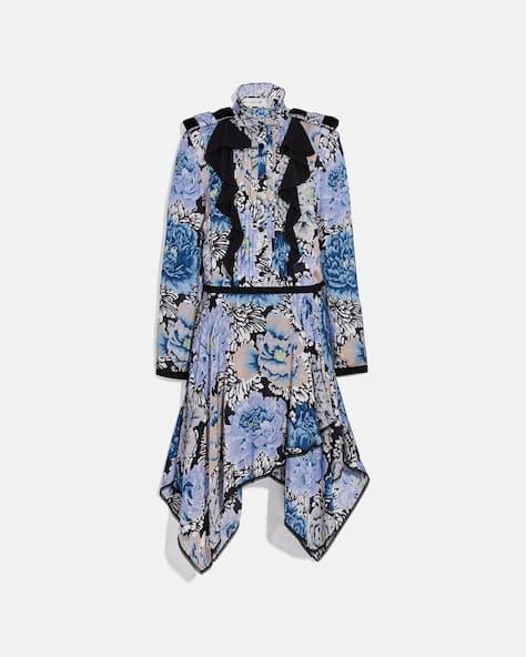 Pleated Dress With Kaffe Fassett Print