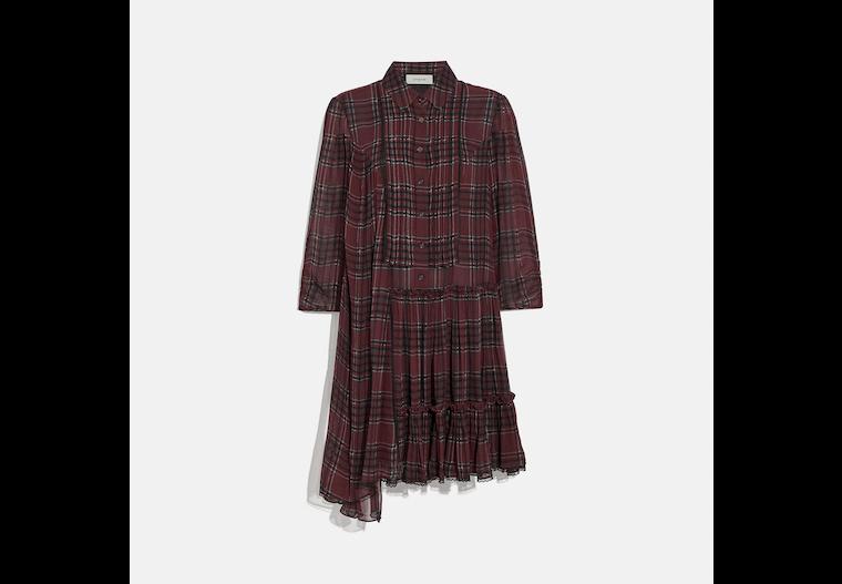 Printed Asymmetrical Dress image number 0