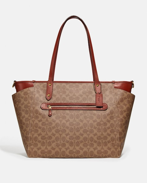 Baby Bag In Signature Canvas