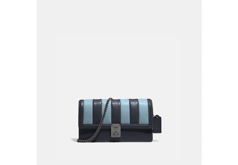 Hutton Clutch With Colorblock Quilting image number 0