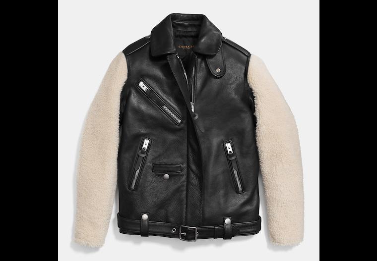 Sheepskin Sleeve Jacket image number 0