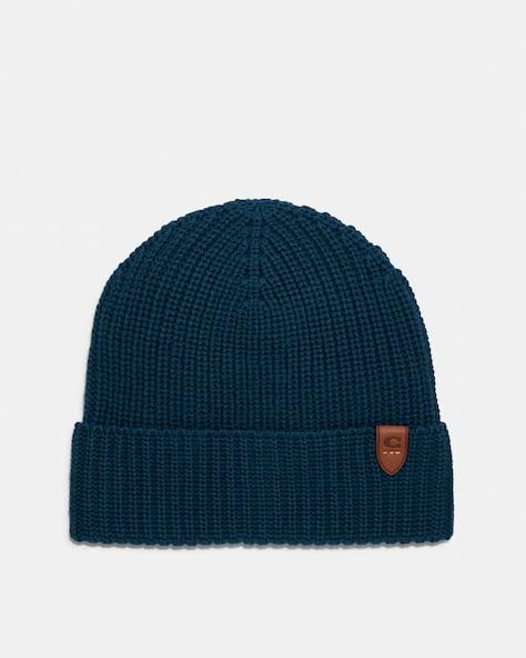 Rib Knit Merino Wool Hat
