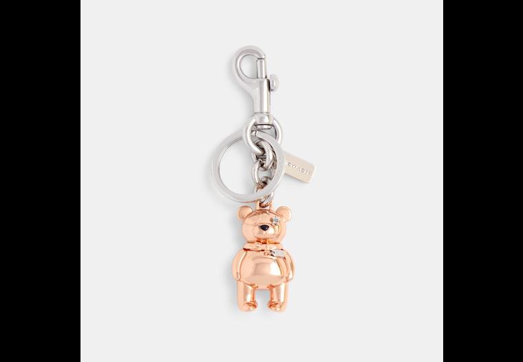 3 D Bear Bag Charm image number 0