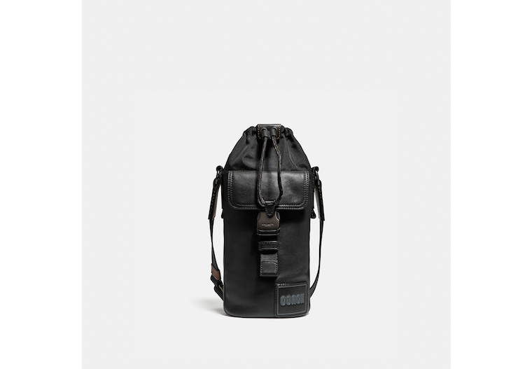 Pacer Drawstring Crossbody With Coach Patch image number 0