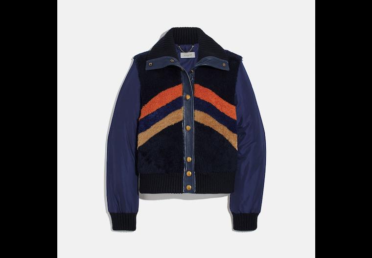 Retro Shearling Jacket image number 0