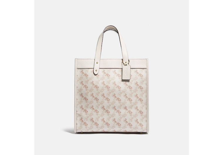 Field Tote With Horse And Carriage Print image number 0