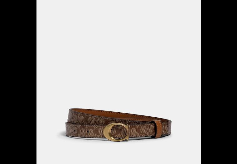 Signature Buckle Belt, 18 Mm image number 0
