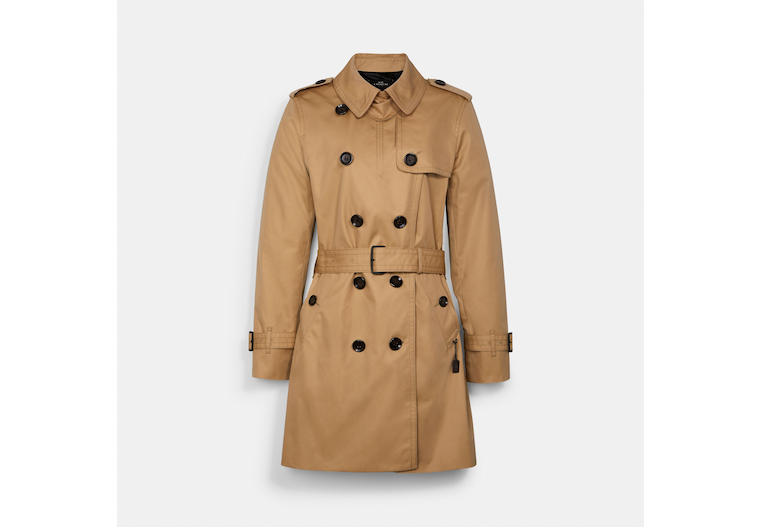 Signature Lapel Trench image number 0