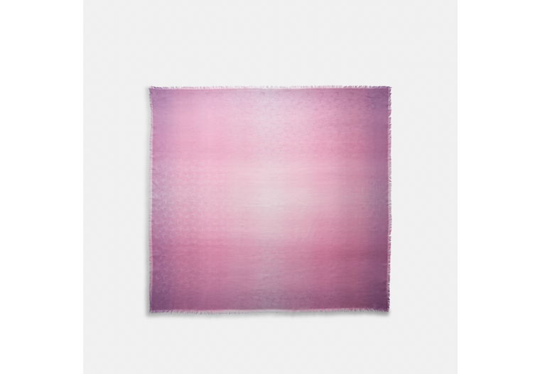 Signature Ombre Oversized Square Scarf image number 0