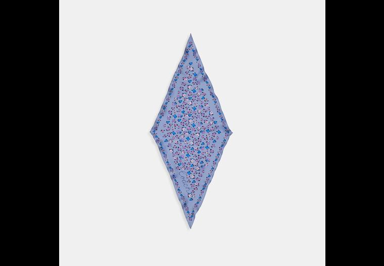 Essential Tea Rose Silk Diamond Scarf image number 0
