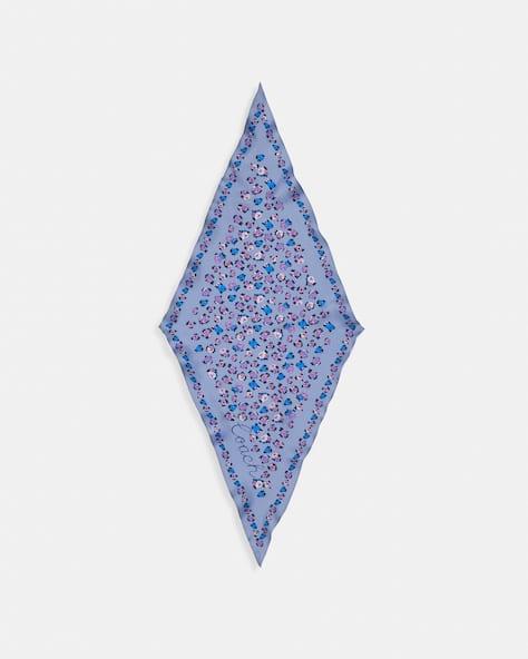 Essential Tea Rose Silk Diamond Scarf