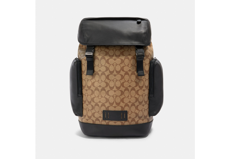 Ranger Backpack In Signature Canvas image number 0