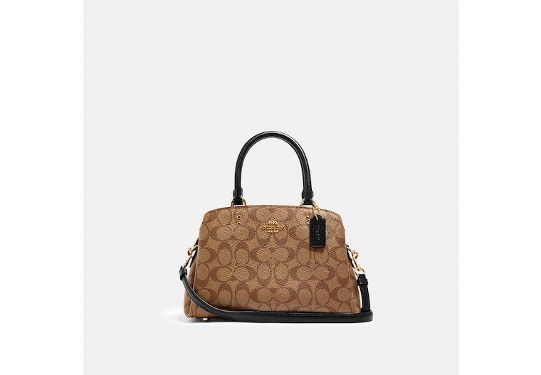 Mini Lillie Carryall In Signature Canvas image number 0