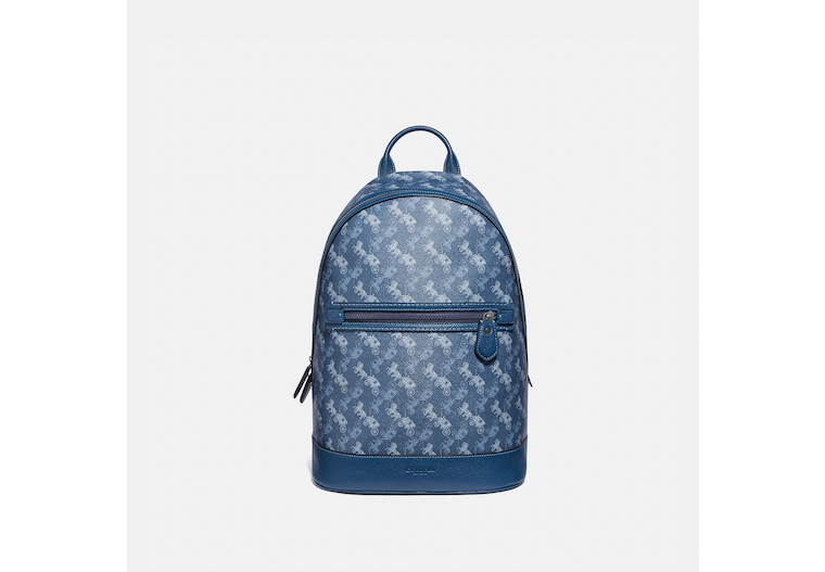 Barrow Backpack With Horse And Carriage Print image number 0