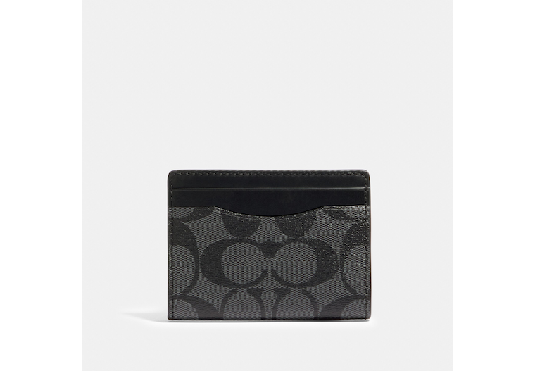 Magnetic Card Case In Signature Canvas image number 0