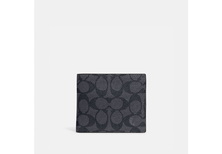 3 In 1 Wallet In Signature Canvas image number 0