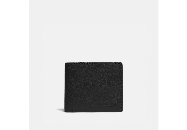 3 In 1 Wallet With Signature Canvas Detail image number 0