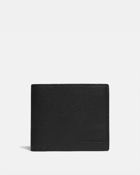 3 In 1 Wallet With Signature Canvas Detail