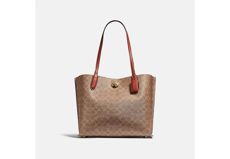 Willow Tote In Signature Canvas image number 0