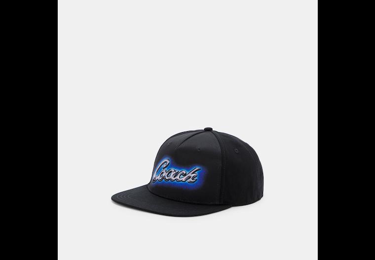 Airbrush Flat Brim Hat image number 0
