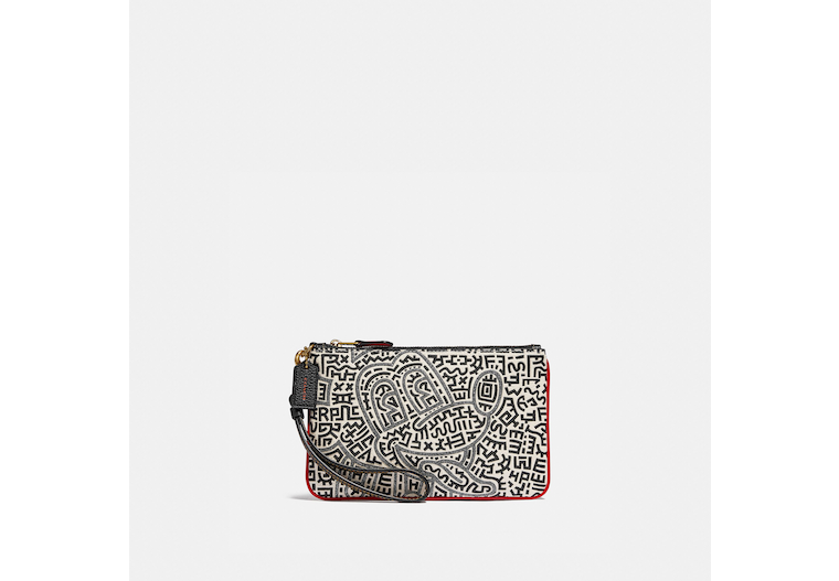 Disney Mickey Mouse X Keith Haring Small Wristlet image number 0