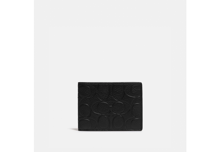 Slim Billfold Wallet In Signature Leather image number 0