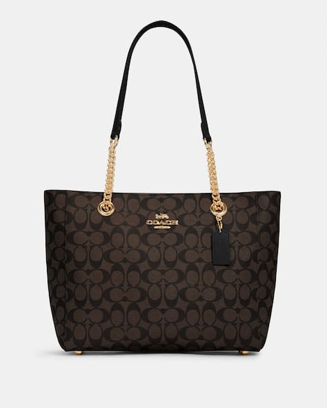 Marlie Tote In Signature Canvas
