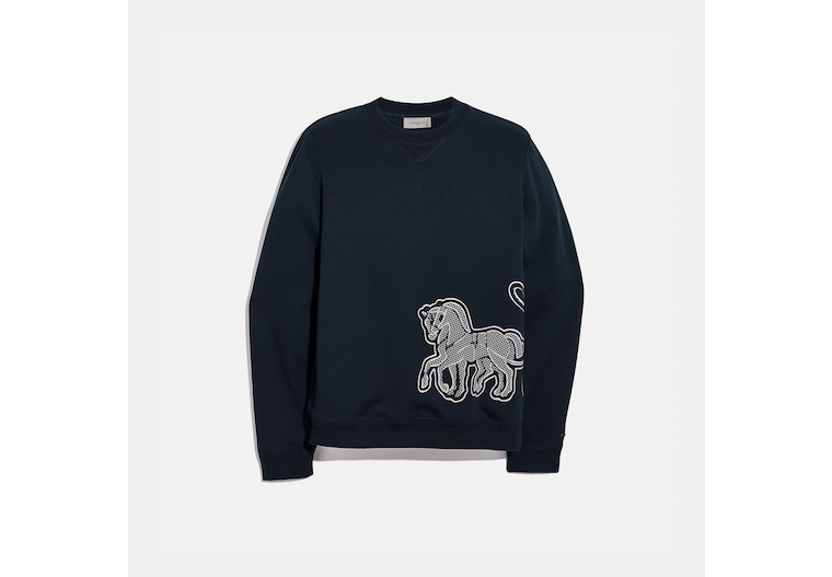 Horse And Carriage Sweatshirt image number 0