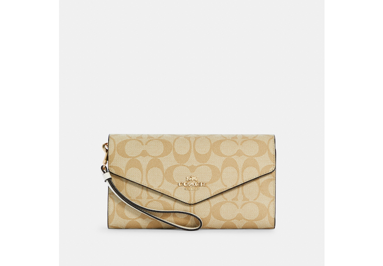 Travel Envelope Wallet In Signature Canvas image number 0