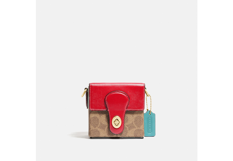 Lunar New Year Square Bag 10 In Signature Canvas image number 0