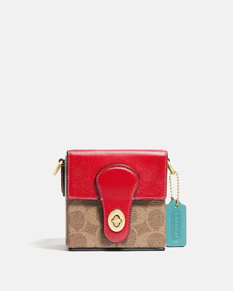 Lunar New Year Square Bag 10 In Signature Canvas