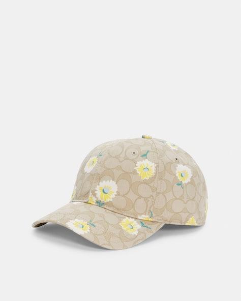 Hat In Signature Daisy Print