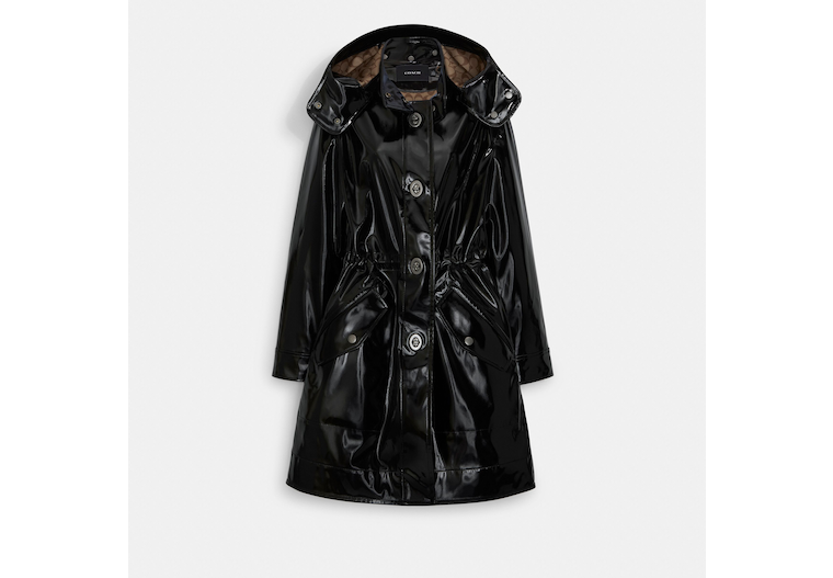 Raincoat With Signature Lining image number 0