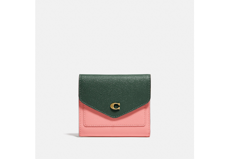 Wyn Small Wallet In Colorblock image number 0