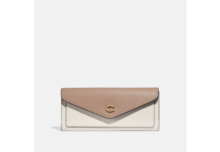 Wyn Soft Wallet In Colorblock image number 0