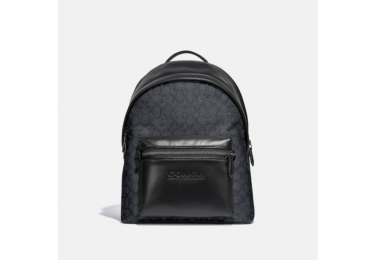 Charter Backpack In Signature Canvas image number 0