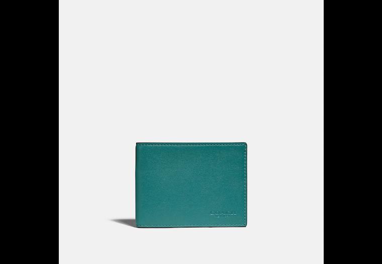Slim Billfold Wallet In Colorblock image number 0