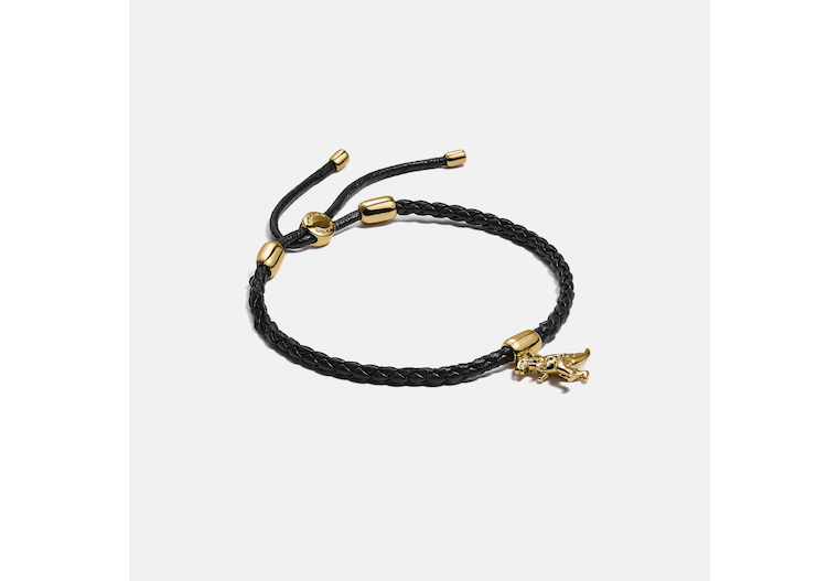 Friendship Slider Bracelet With Rexy Charm image number 0