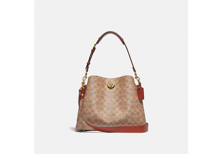 Willow Shoulder Bag In Signature Canvas image number 0