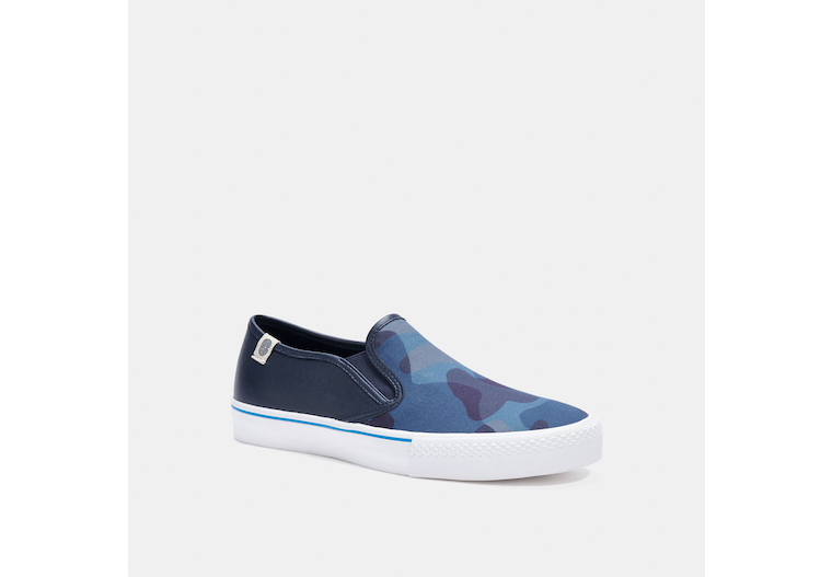 Citysole Skate Slip On Sneaker With Camo Print image number 0