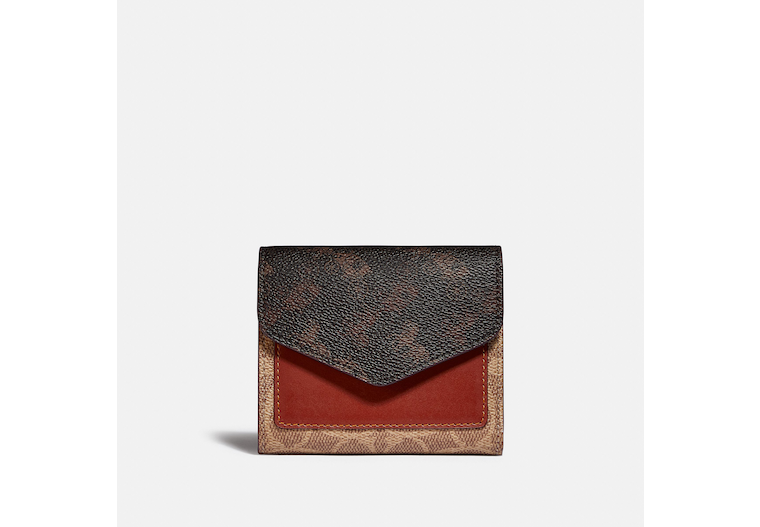 Wyn Small Wallet With Horse And Carriage Print image number 0