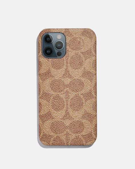 Iphone 12 Pro Case In Signature Canvas