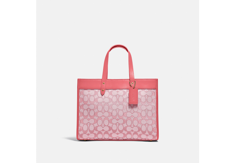 Field Tote 30 In Signature Jacquard image number 0