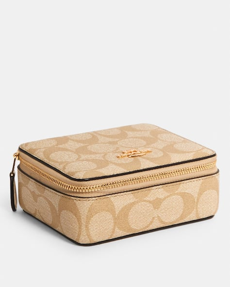 Large Jewelry Box In Signature Canvas
