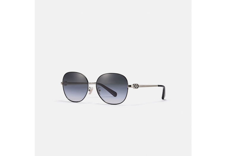 Horse And Carriage Round Sunglasses image number 0