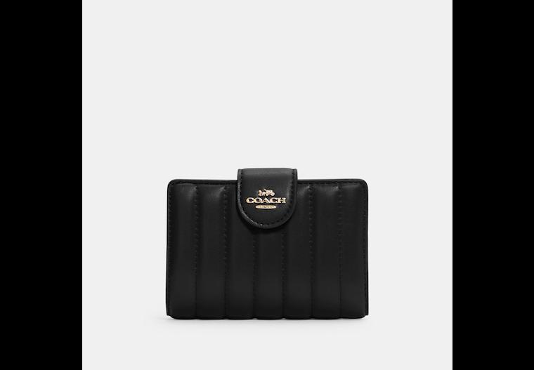 Medium Corner Zip Wallet With Quilting image number 0