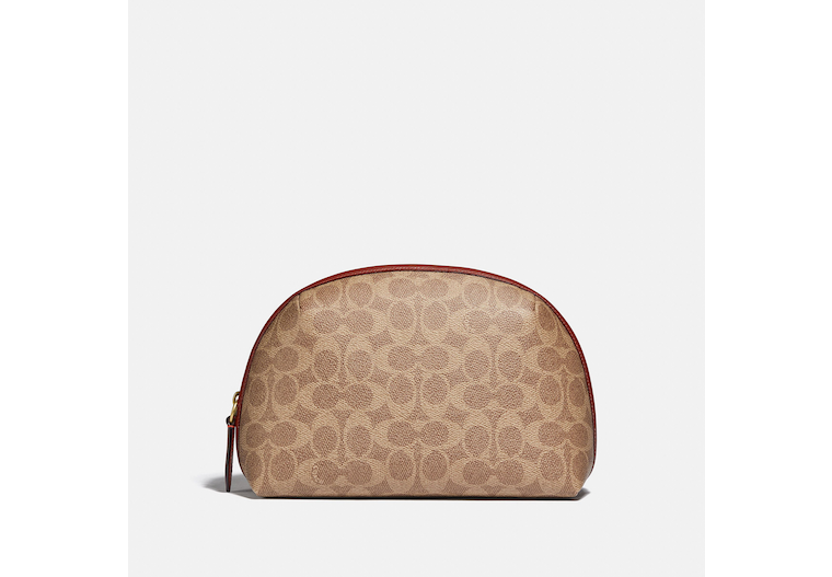 Julienne Cosmetic Case 22 In Signature Canvas image number 0