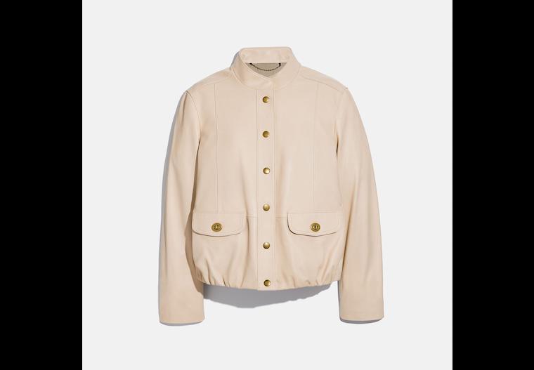 Lightweight Leather Jacket image number 0